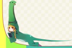 ロングテール恐竜1のアイキャッチ画像