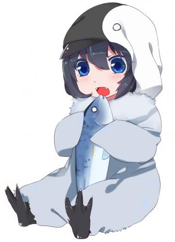 ウェブスパムが大好物なペンギンアップデートちゃんのイラスト
