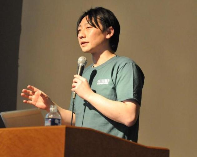 CSS Nite in SAPPOROの「サイトリニューアル時のSEO」で登壇された益子 貴寛山の写真