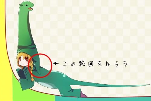 ロングテール恐竜擬人化から見るブルーオーシャンキーワード