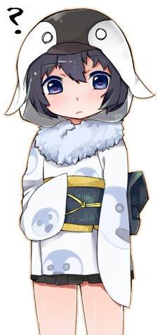 イマイチ、日本では覇気がないペンギンアップデート2.0ちゃんのイラスト