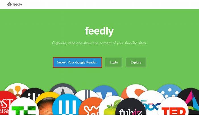 FeedlyとGoogleリーダーを同期させる